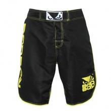 Шорты Bad Boy MMA Shorts - Black/Yellow