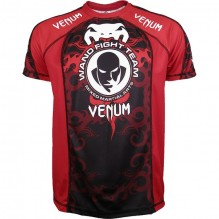 Футболка  Venum Wand Fight Team - Red
